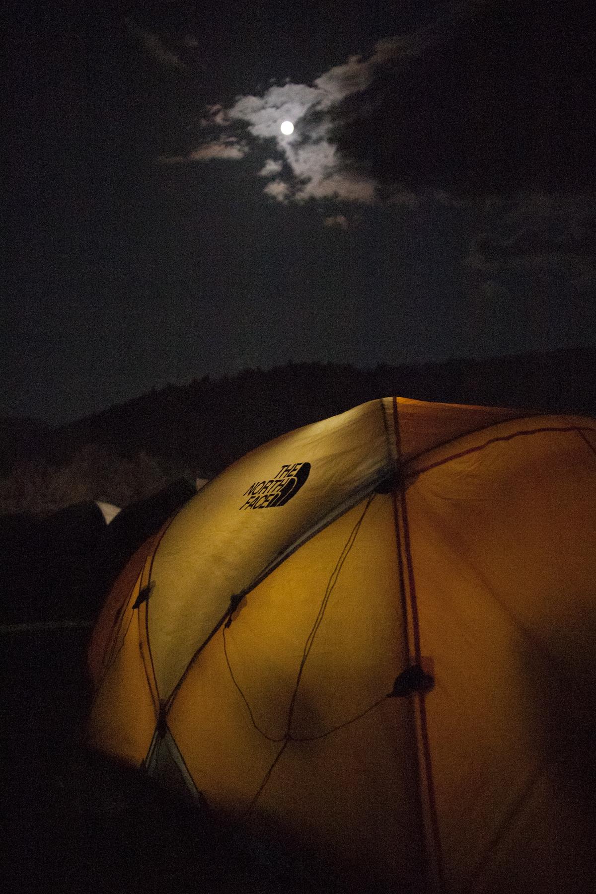 Mountain25と月